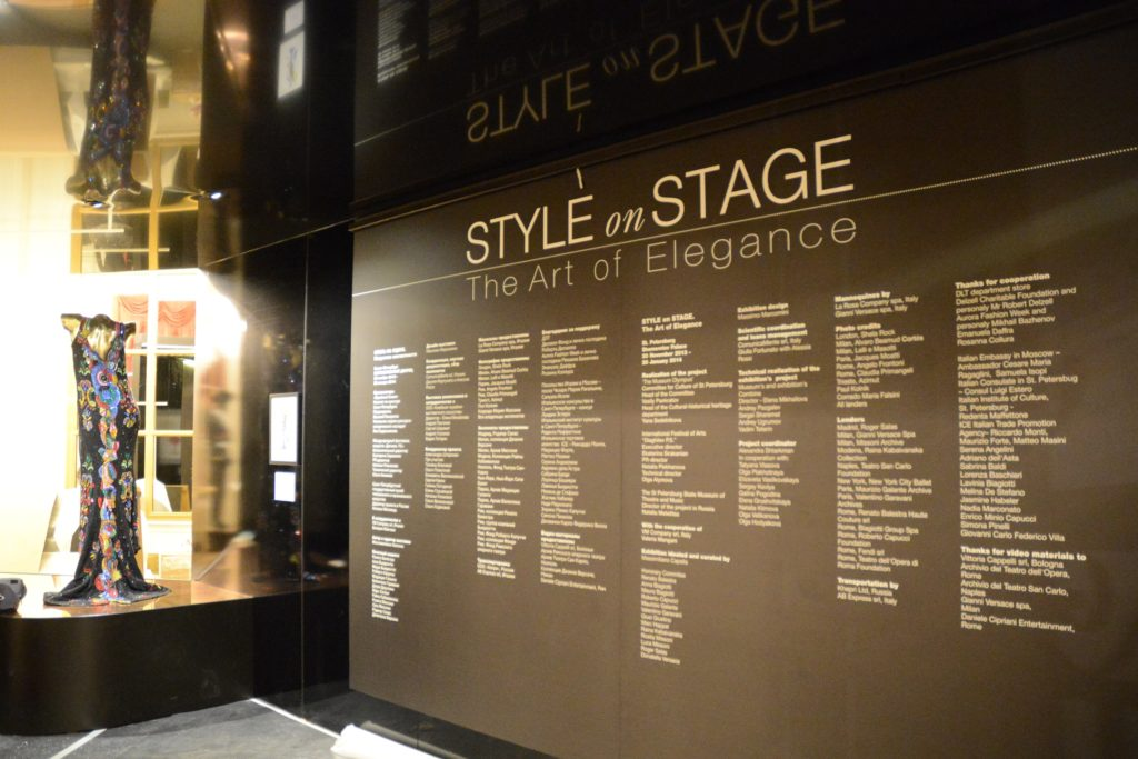 Style on Stage_Colophon