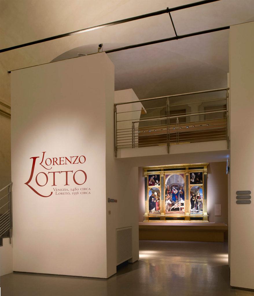 Lorenzo Lotto, Scuderie del Quirinale, allestimento